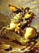 Jacques-Louis David Bonaparte Crossing St. Bernard Pass oil painting picture wholesale