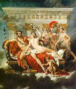 Jacques-Louis David Mars Disarmed by Venus and the Three Graces oil painting picture wholesale