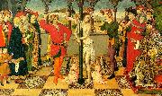 Jaime Huguet The Flagellation of Christ oil painting artist