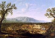 Jakob Philipp Hackert The Excavations of Pompeii oil painting picture wholesale