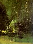 James Abbott McNeil Whistler Nocturne in Black and Gold oil painting picture wholesale