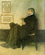 James Abbott McNeil Whistler Portrait of Thomas Carlyle oil painting picture wholesale