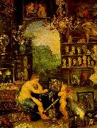 Jan Brueghel The Sense of Vision oil painting picture wholesale