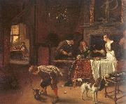 Jan Steen Easy Come, Easy Go oil painting artist