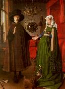 Jan Van Eyck The Arnolfini Marriage oil painting artist