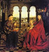 Jan Van Eyck The Virgin of Chancellor Rolin oil painting artist