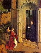 Jan Van Eyck The Annunciation  6 oil painting artist