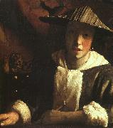 JanVermeer Woman Holding a Balance oil painting picture wholesale