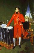 Jean Auguste Dominique Ingres Portrait of Napoleon Bonaparte, The First Council. oil painting artist
