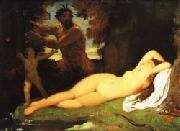 Jean Auguste Dominique Ingres The Turkish Bath oil painting
