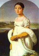 Jean Auguste Dominique Ingres Portrait of Mademoiselle Riviere. oil painting artist
