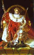 Jean Auguste Dominique Ingres Portrait of Napoleon on the Imperial Throne oil painting artist