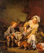 Jean Baptiste Greuze The Spoiled Child oil painting picture wholesale