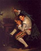 Jean Baptiste Greuze The Guitarist oil painting picture wholesale