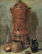 Jean Baptiste Simeon Chardin The Copper Cistern oil painting picture wholesale