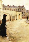 Jean Beraud Waiting oil painting reproduction