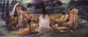 Jean Delville The School of Plato oil painting picture wholesale