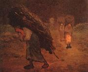 Jean Francois Millet Faggot Carriers oil painting picture wholesale