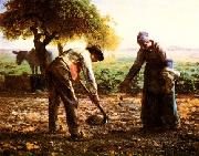 Jean Francois Millet L'Angelus oil painting picture wholesale