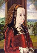 Jean Hey Portrait of Margaret of Austria France oil painting reproduction