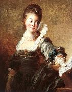 Jean Honore Fragonard Portrait of a Singer Holding a Sheet of Music oil painting picture wholesale