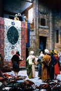 Jean Leon Gerome The Carpet Merchant oil painting picture wholesale