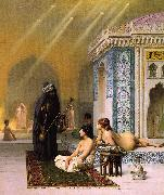 Jean Leon Gerome Harem Pool oil painting artist