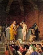 Jean Leon Gerome Slave Auction oil painting artist