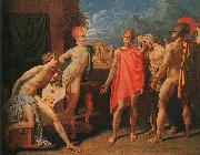 Jean-Auguste Dominique Ingres The Ambassadors of Agamemnon in the Tent of Achilles oil painting picture wholesale