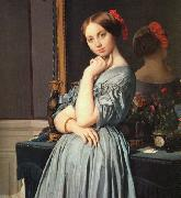 Jean-Auguste Dominique Ingres The Comtesse d'Haussonville oil painting artist