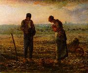 Jean-Franc Millet The Angelus oil painting artist