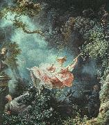 Jean-Honore Fragonard The Swing oil painting artist