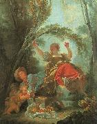 Jean-Honore Fragonard The See-Saw oil painting artist
