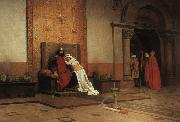 Jean-Paul Laurens The Excommunication of Robert the Pious oil painting picture wholesale