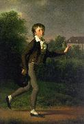 Jens Juel A Running Boy oil painting artist