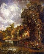 John Constable The Valley Farm oil painting artist