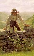 John George Brown The Berry Boy oil painting artist