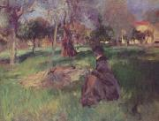 John Singer Sargent In the Orchard oil painting picture wholesale
