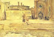 John Singer Sargent Piazza, Venice oil painting picture wholesale