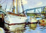 John Singer Sargent Boats at Anchor oil painting picture wholesale