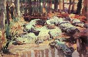 John Singer Sargent Muddy Alligators oil painting picture wholesale