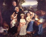 John Singleton Copley The Copley Family oil painting picture wholesale