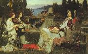 John William Waterhouse St.Cecilia oil painting artist