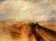 Joseph Mallord William Turner Rain, Steam and Speed The Great Western Railway oil painting reproduction