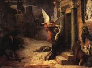 Jules Elie Delaunay The Plague in Rome oil painting picture wholesale