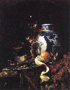 KALF, Willem Still-Life with a Late Ming Ginger Jar oil painting artist