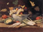 KESSEL, Jan van Still-life with Vegetables s oil painting artist