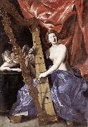 LANFRANCO, Giovanni Venus Playing the Harp (Allegory of Music) sg oil painting picture wholesale