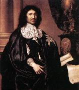 LEFEBVRE, Claude Portrait of Jean-Baptiste Colbert sg oil painting picture wholesale