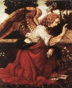 LEONARDO da Vinci Annunciation (detail)  fg47 oil painting picture wholesale